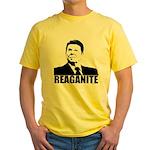 "Ronald Reagan ""Reaganite"" Yellow T-Shirt"