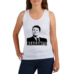 "Ronald Reagan ""Reaganite"" Women's Tank Top"