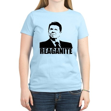"Ronald Reagan ""Reaganite"" Women's Light T-Shirt"