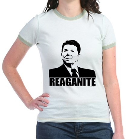 "Ronald Reagan ""Reaganite"" Jr. Ringer T-Shirt"