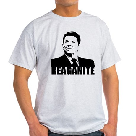 "Ronald Reagan ""Reaganite"" Light T-Shirt"