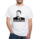 """Ronald Reagan """"Reaganite"""" White T-Shirt"""
