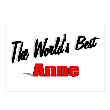 """The World's Best Anne"" Postcards (Package of 8)"