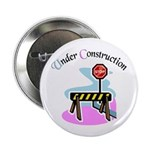 Baby under construction Button