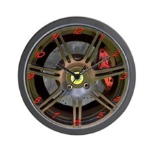 Elise/Exige Black Wheel Wall Clock