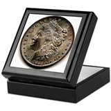 Morgan Dollar Keepsake Box