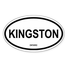 Kingston Oval Decal