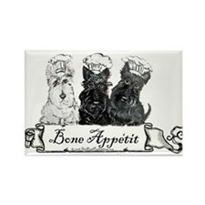 Scottish Terrier Chefs Rectangle Magnet