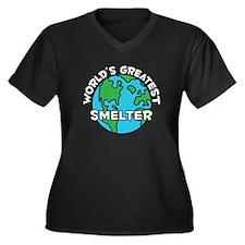 World's Greatest Smelter (G) Women's Plus Size V-N