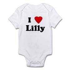I Love Lilly Infant Bodysuit