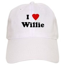 I Love Willie Baseball Cap