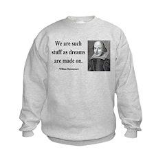 Shakespeare 12 Kids Sweatshirt