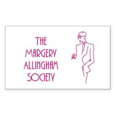 Margery Allingham Society Rectangle Decal