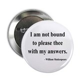 "Shakespeare 13 2.25"" Button"