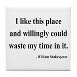 Shakespeare 15 Tile Coaster