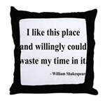 Shakespeare 15 Throw Pillow