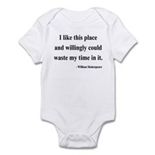 Shakespeare 15 Infant Bodysuit