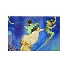 PETER PAN - FLYING Rectangle Magnet (100 pack)