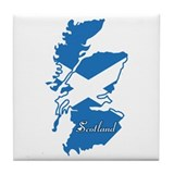 Cool Scotland Tile Coaster