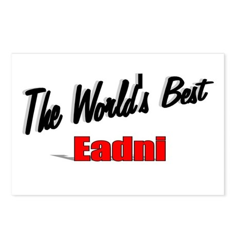 """The World's Best Eadni"" Postcards (Package of 8)"
