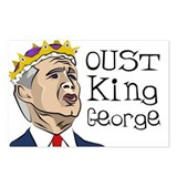 Oust King George - Postcards (Package of 8)