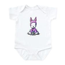 Easter Bunny Westie Infant Bodysuit