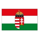 Hungary Flag Decal
