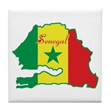 Cool Senegal Tile Coaster