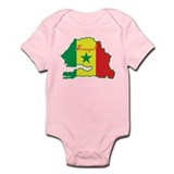 Cool Senegal Infant Bodysuit