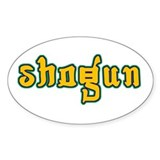 Shogun Oval Decal