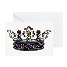 Crown Jewels Greeting Card