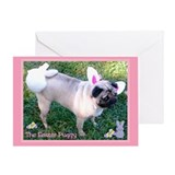 Easter Puggy Greeting Card