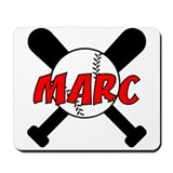 Marc Baseball Mousepad