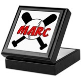 Marc Baseball Keepsake Box