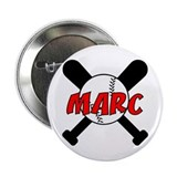 "Marc Baseball 2.25"" Button (10 pack)"