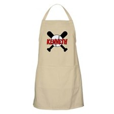Kenneth Baseball BBQ Apron