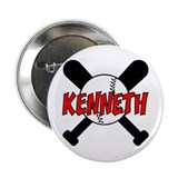 "Kenneth Baseball 2.25"" Button"