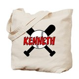 Kenneth Baseball Tote Bag