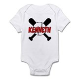 Kenneth Baseball Infant Bodysuit