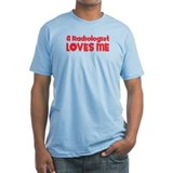 A Radiologist Loves Me Shirt