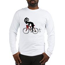 Kokopelli Bicycle Long Sleeve T-Shirt