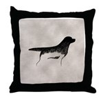 Cave Dog Labrador Retriever Throw Pillow