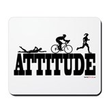 Attitude Triathlon Mousepad