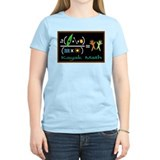 kayak math blackboard T-Shirt