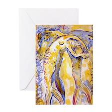 Sharyl Gates,Dancing Mermaids Greeting Card