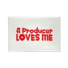 A Producer Loves Me Rectangle Magnet (10 pack)