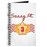 Sassy At 3 Journal