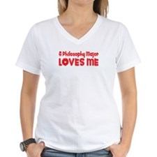 A Philosophy Major Loves Me Shirt