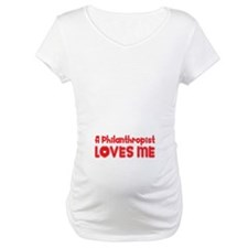 A Philanthropist Loves Me Shirt