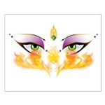 Belly Dance Shimmy Chic Small Poster